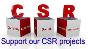 Support our CSR Projects